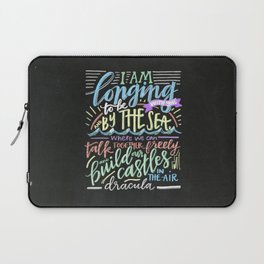 by the sea - dracula Laptop Sleeve