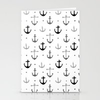 anchor Stationery Cards featuring Anchor by Miriam Sironi