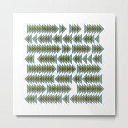 #393 Shoal movements – Geometry Daily Metal Print