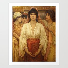 Queen Esther - Kate Gardiner Hastings Art Print