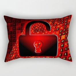 Unprotected data Rectangular Pillow