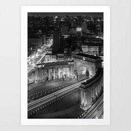 Triumphal Arch and Colonnade, 2017 Art Print
