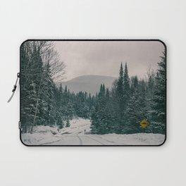 Lost in Winter Laptop Sleeve