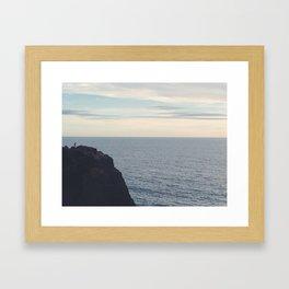 Point Dume Framed Art Print