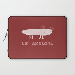 Le Axolotl Laptop Sleeve