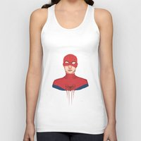 spider man Tank Tops featuring Spider-man by parkers