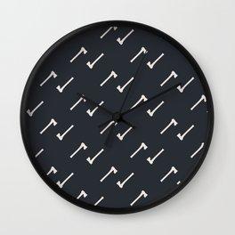 Hatchet Job Wall Clock