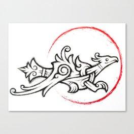 Ringerike Ring Falcon Canvas Print