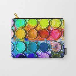 Watercolor Art Palette Carry-All Pouch
