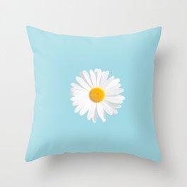 chamomile daisy Throw Pillow