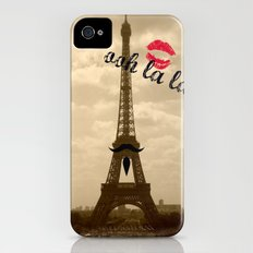 ooh la la iPhone (4, 4s) Slim Case