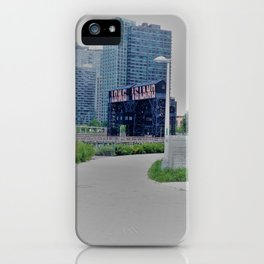 Long Island City Sign iPhone Case