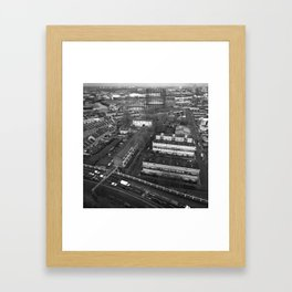 View Across East London #2 Framed Art Print