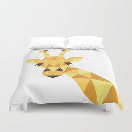 a giraffe Duvet Cover