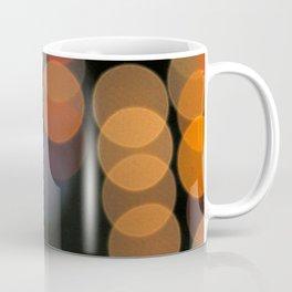 Blurred Orange Lights Coffee Mug