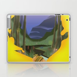 sierra leone Laptop & iPad Skin