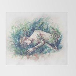 adam parrish - magician Throw Blanket