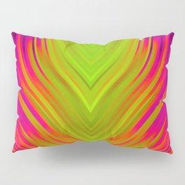 stripes wave pattern 3 w81 Pillow Sham
