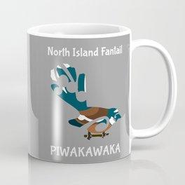 Piwakawaka | Fantail | New Zealand bird Coffee Mug