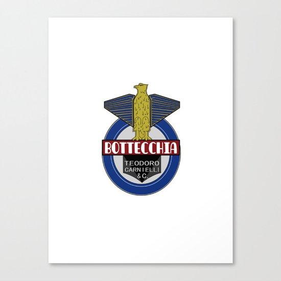 Bottecchia Bicycle Logo Canvas Print