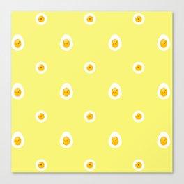 Upset Eggs Canvas Print