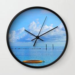Bahamian Morning Wall Clock