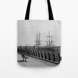 Lost in the Harbour. Tote Bag