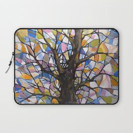 Stained Glass Tree #1 Laptop Sleeve
