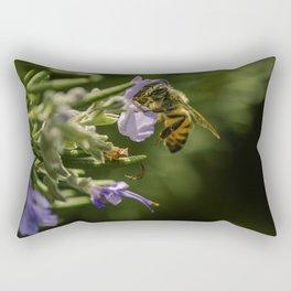 Bee at work Rectangular Pillow
