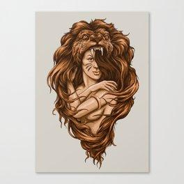 Lion Queen Canvas Print