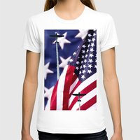 america T-shirts featuring America by TexasArt