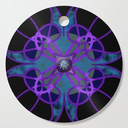 Flower in Purple Cutting Board