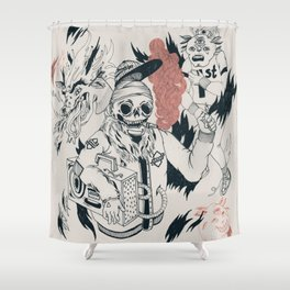 ALL GOD'S CHILDREN CAN DANCE Shower Curtain