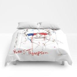 Hunter S. Thompson Comforters