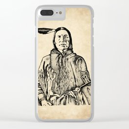 Blackfoot Clear iPhone Case
