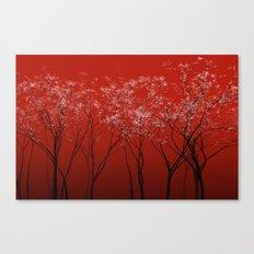 Trees redwine Canvas Print