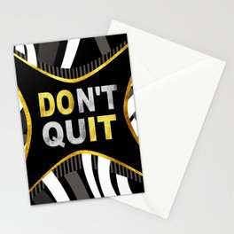 Don't Quit, Do It Stationery Cards