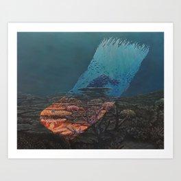 Transience - Brushstrokes in Time Art Print