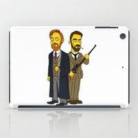 moriarty iPad Cases featuring Moriarty & Moran by San Fernandez