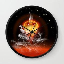 Feuerfisch - fire fish Wall Clock
