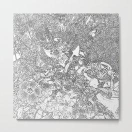 Container Gardening Metal Print