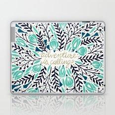 Adventure is Calling – Navy & Mint Palette Laptop & iPad Skin