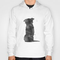 border collie Hoodies featuring Border Collie by Carma Zoe