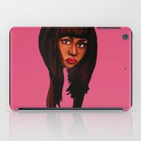 nicki iPad Cases featuring Watch the queen conquer by Papa-Paparazzi