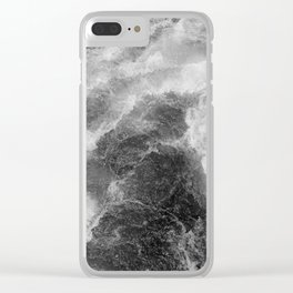 Cold water 53 Clear iPhone Case