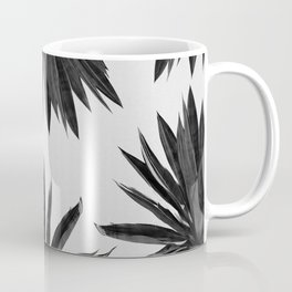 Agave Cactus Black & White Coffee Mug