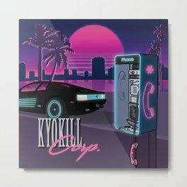 Kyokill Corp. Metal Print