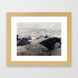 i am the ocean Framed Art Print