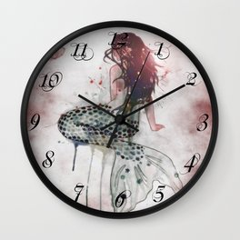 Mermaid II Wall Clock
