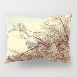 Hello Spring! (White Cherry Blossom by the Lake) Pillow Sham